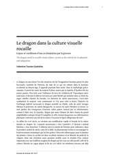 le dragon dans la culture visuelle rocaille
