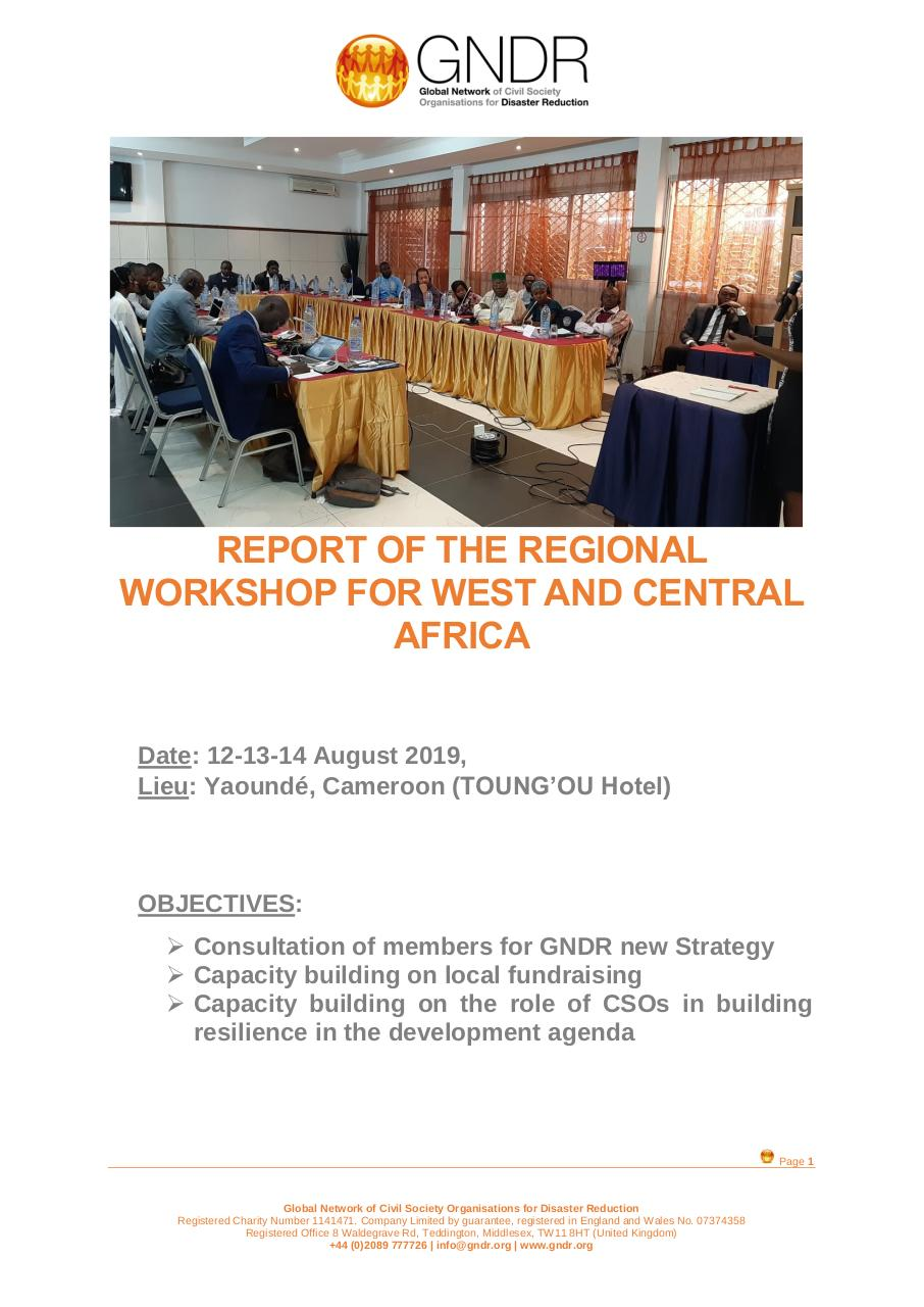2019.08.05 Report of the Regional Workshop VEng.pdf - page 1/13