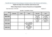 emploi du temps l3 semestre 5  sciences financieres def
