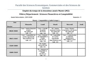 emploi du temps m2 semestre 3 sfc  def