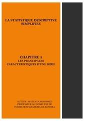 chapitre 2  les prancipales caracteristiques dune serie