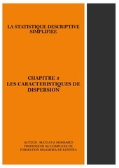 chapitre 3 les caracteristiques de dispersion