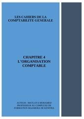 chapitre 4 lorganisation comptable