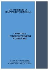 chapitre 5 lenregistrement comptables