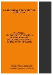 chapitre 5 les series statistique a double entrees