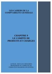 chapitre 9 le compte de produits et charges