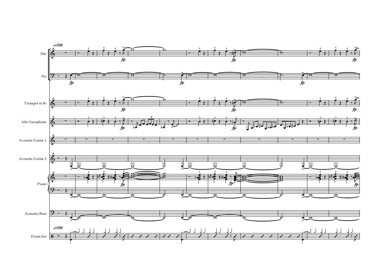 Aperçu du document Gipsy fever reduction - Score and parts.pdf - page 1/38
