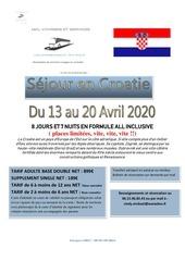 sejour mkl voyages et services croatie