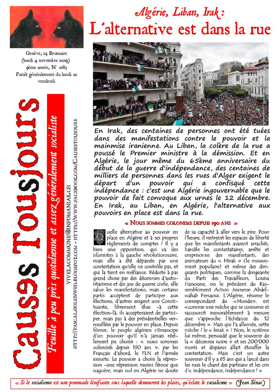 Aperçu du document Newsletter2185.pdf - page 1/2