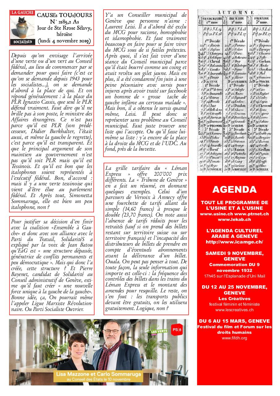 Aperçu du document Newsletter2185.pdf - page 2/2