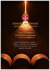 plaquette coffret cadeau boutique gerard bertrand 2019