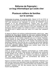 communique familles en lutte 101119