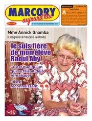 journal marcory aujourdhui n 41 du mois de novembre 2019