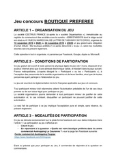 reglementjeuboutique preferee cognacnov19