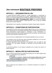 reglementjeuboutique preferee lcnov19