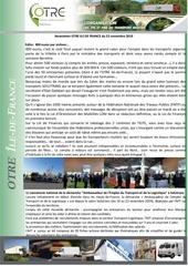 news otre idf 22 novembre 2019