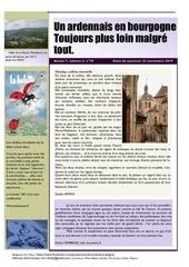 un ardennais en bourgogne journal mensuel novembre 2019