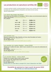 tarif 2020 escoutay p 4