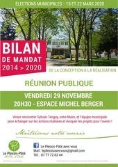 affiche invitation reunion publique