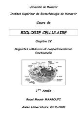 cours polycopie bio cell    chap iv   1e a isbm 2019 2020