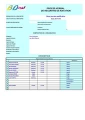 2eme journee qualificative secteur maritime