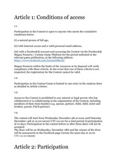 Contest game_Contest Facebook Cartam_ Rules ENG.pdf - page 2/9