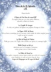 menu st sylvestre 2019