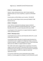 reglement jeu monopoly edition tricheur 2019