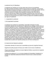 chapitre 5   le parlement de la ve republique 1