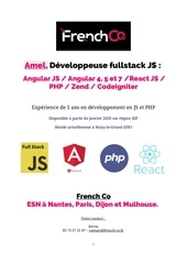 cv amel developpeuse fullstack js