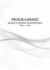 programme 1 mois