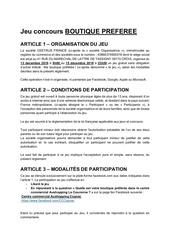 reglementjeuboutique preferee cognacdec19