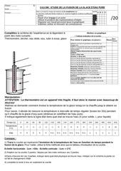5c46 dm courbe de fusion et de solidification alternee b