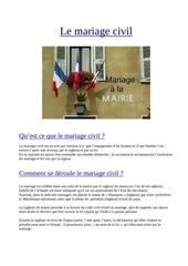 le mariage civil blog