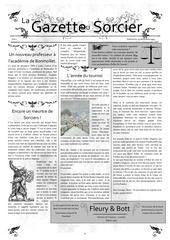 gazette du sorcier edition du 23 decembre 1994