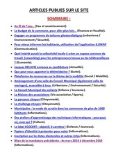 articles publies sur le site2