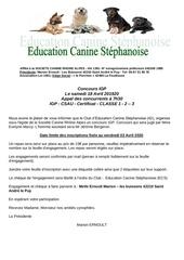invitation au concours ecs 2020