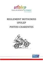 reglement motocross poitou charentes