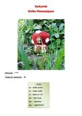 tutoriel boite champignon