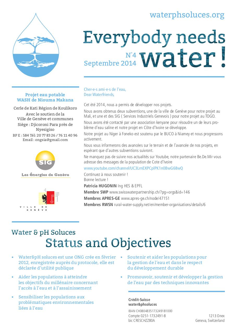 Aperçu du document Newsletter septembre 2014.pdf - page 1/4
