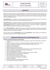 rg3 0027 003 fiche de poste office manager