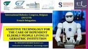 robotic and elderly care belgium 2019 france delegation 1