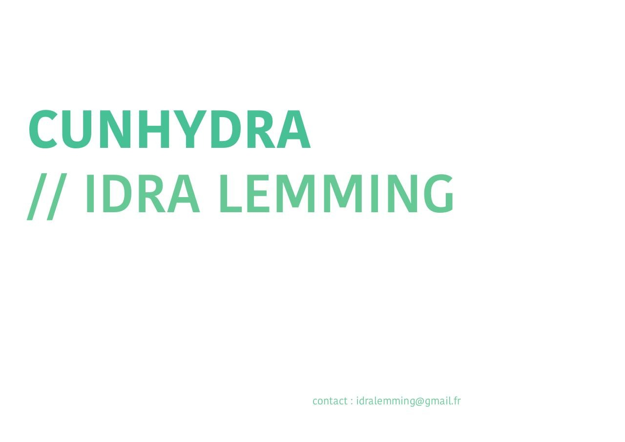 Aperçu du document Cunhydra : Idra Lemming.pdf - page 1/47