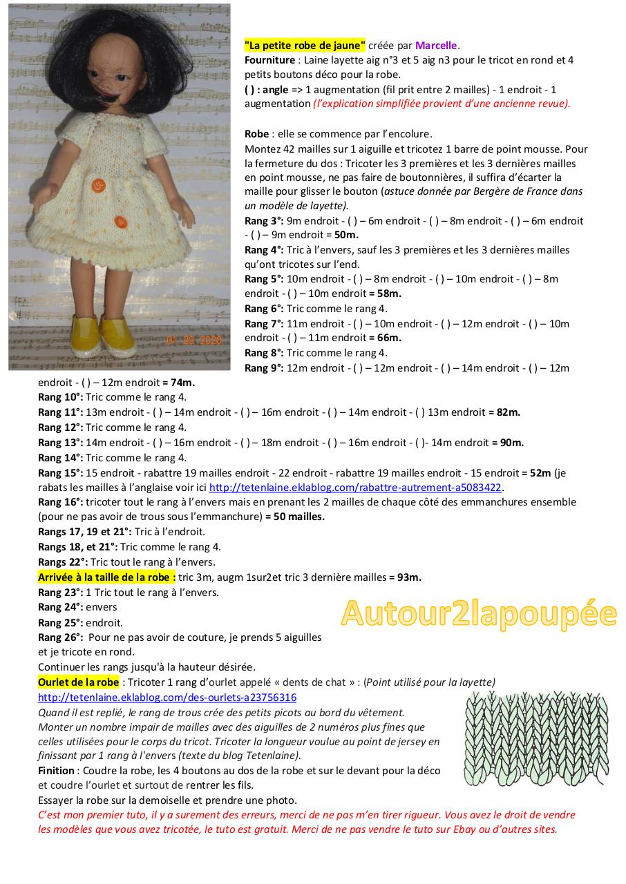 Aperçu du document 2020.01.29 robe jaune Marcelle.pdf - page 1/1