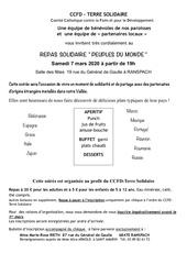 ccfd inscription repas solidaire 2020