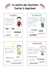cartes des emotions