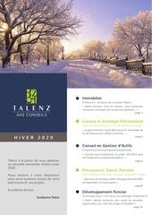 newsletter axe conseils hiver 2019