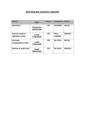 planning des examens reportes pdf