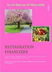 jeune 1 7 mars 2020  restauration financiere