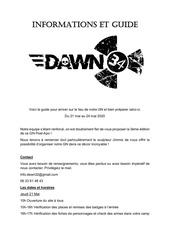 dawn gn   information pratique et guide